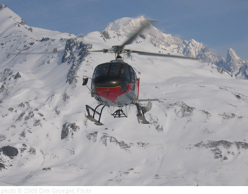 Heliskiing Courmayeur, photo Dirk Groeger